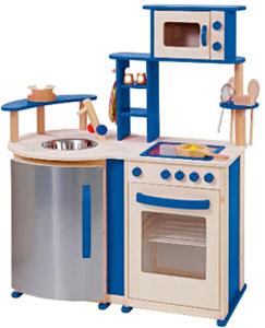 Kinderkeukens uit hout zijn over het algemeen wat steviger dan de ...